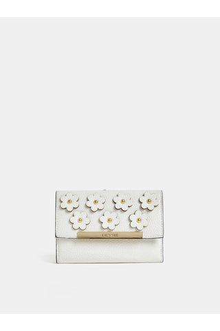 Krémová peněženka s ozdobnými detaily Bessie London