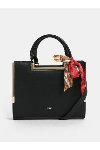 Černá kabelka s šátkem Bessie London