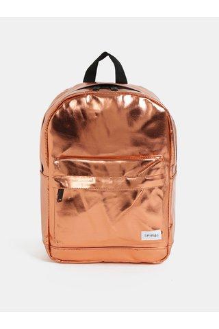 Oranžový lesklý batoh Spiral Mini 9 l