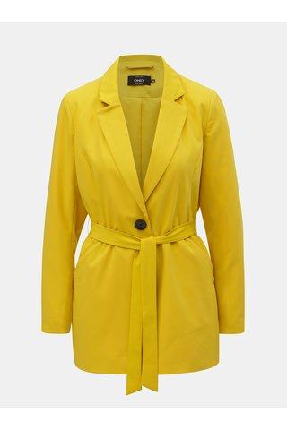 Žluté sako s páskem ONLY Annya