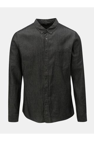 Tmavě šedá košile Burton Menswear London