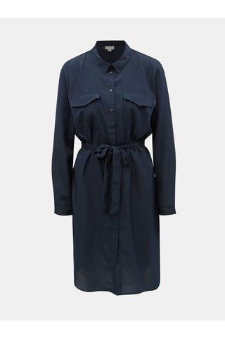 Tmavě modré košilové šaty Jacqueline de Yong Iben
