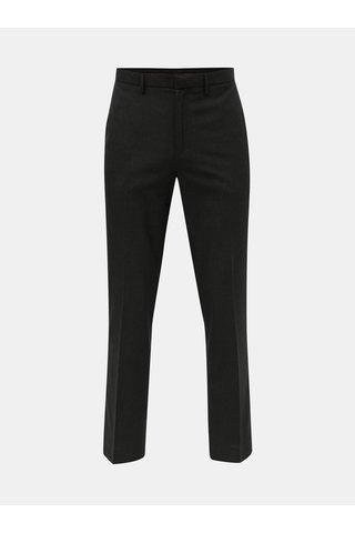 Černé kostkované tailored fit kalhoty Burton Menswear London