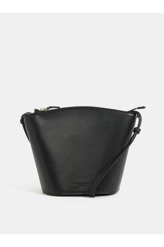 Černá kožená crossbody kabelka Vagabond Aruba