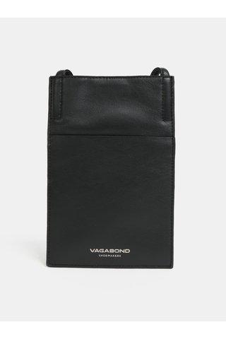 Černé kožené pouzdro Vagabond Skive