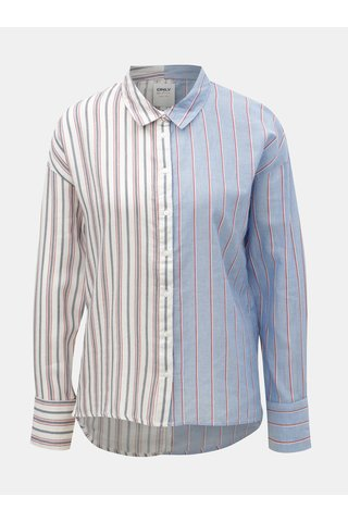 Bílo-modrá pruhovaná košile ONLY Harry
