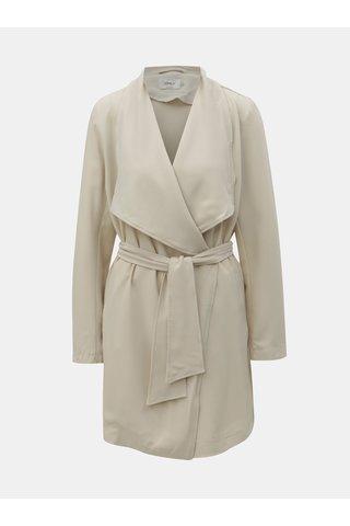 Béžový lehký kabát ONLY Runa