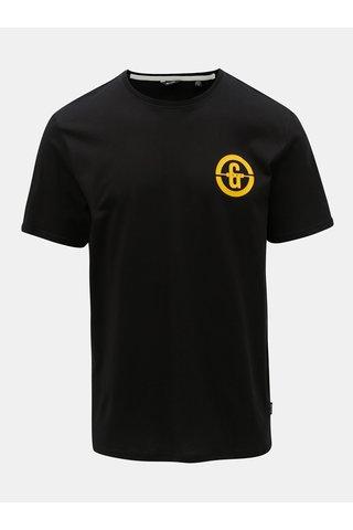 Černé tričko s potiskem ONLY & SONS Edward