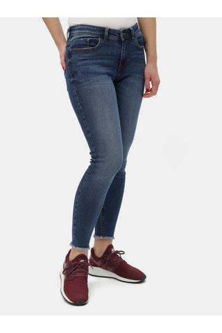 Modré skinny fit džíny Jacqueline de Yong Sedi