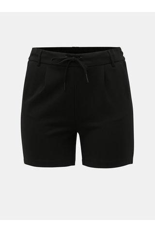 Černé šortky ONLY CARMAKOMA Goldtrash