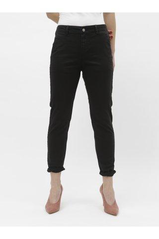 Černé chino kalhoty Selected Femme Megan