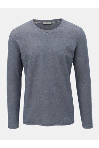 Modré žíhané tričko Selected Homme James