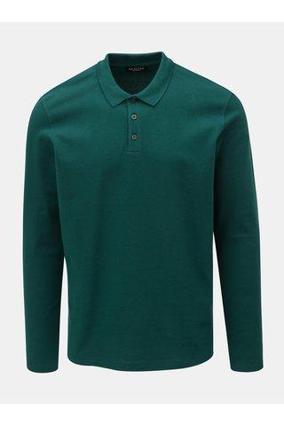 Tmavě zelené polo tričko Selected Homme Wave