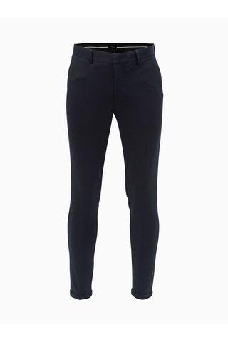 Tmavě modré zkrácené skinny fit kalhoty Selected Homme Jersey
