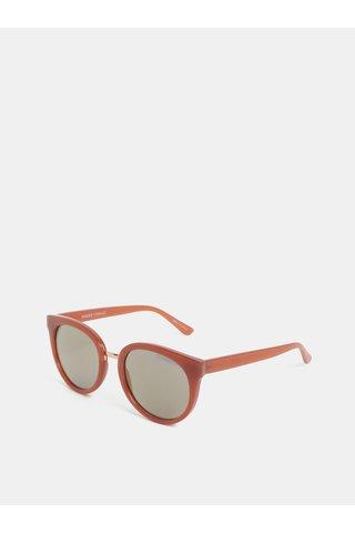 Vínové sluneční brýle Pieces Betty