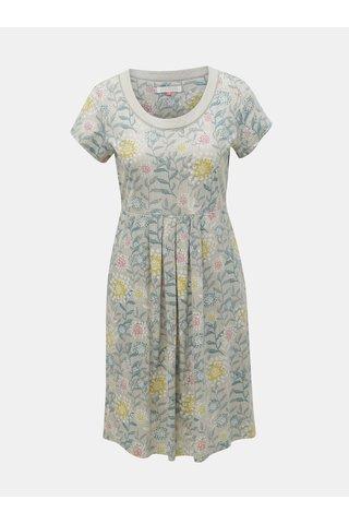 Šedé květované šaty Brakeburn Summer Trail