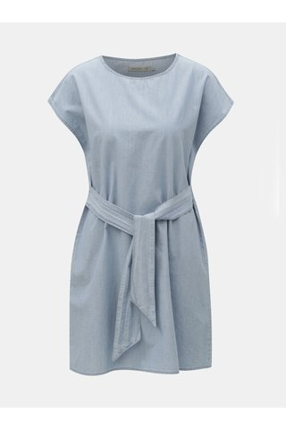 Světle modré džínové šaty VERO MODA Miley