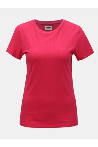 Růžové tričko Noisy May Melse