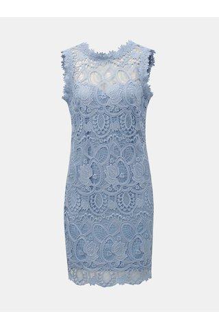 Světle modré krajkové šaty Paper Dolls