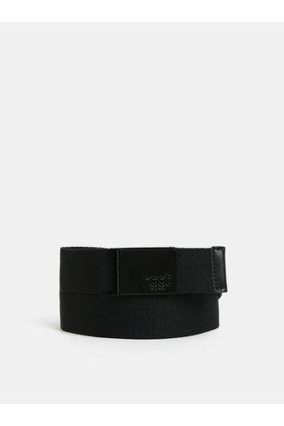 Černý pánský pásek NUGGET Faux