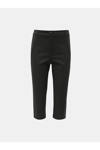 Černé 3/4 kalhoty VERO MODA Victoria
