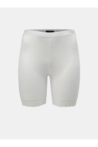 Bílé lehké kraťasy Zizzi