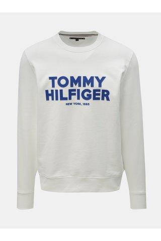 Bílá pánská mikina s potiskem Tommy Hilfiger