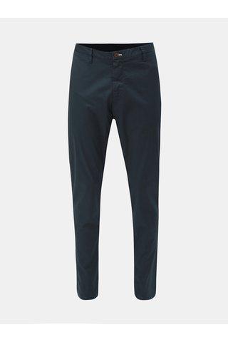 Tmavě modré pánské slim fit chino kalhoty GANT