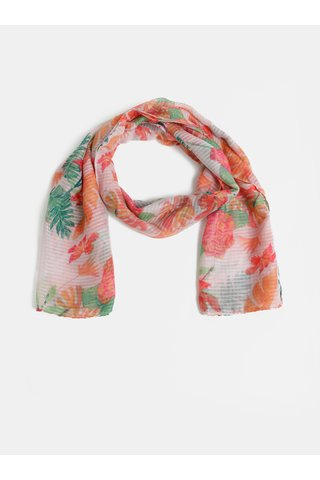 Růžový květovaný šátek Dorothy Perkins