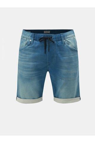 Modré džínové kraťasy Jack & Jones Jirick Dash