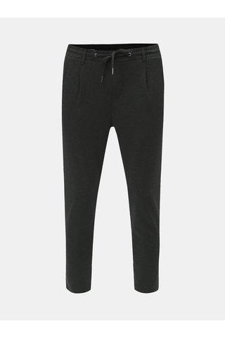 Tmavě šedé zkrácené kalhoty Jack & Jones Vega