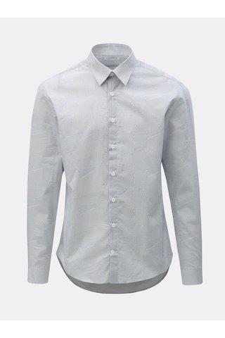 Bílá vzorovaná košile Lindbergh