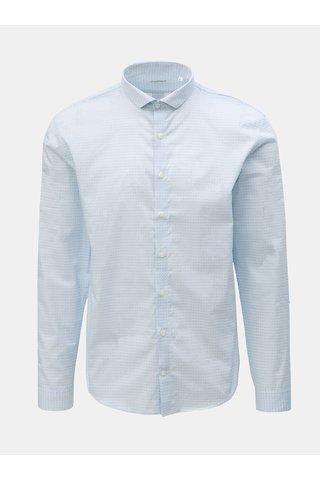 Světle modrá vzorovaná košile Lindbergh