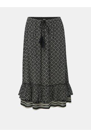Černá vzorovaná sukně Jacqueline de Yong Jackie