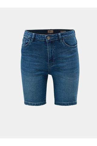 Modré džínové skinny kraťasy ONLY Corin