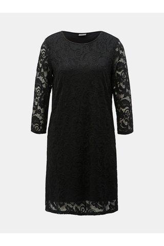 Černé krajkové šaty Jacqueline de Yong Crystal