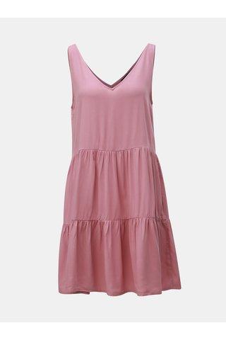 Růžové šaty VERO MODA Simply