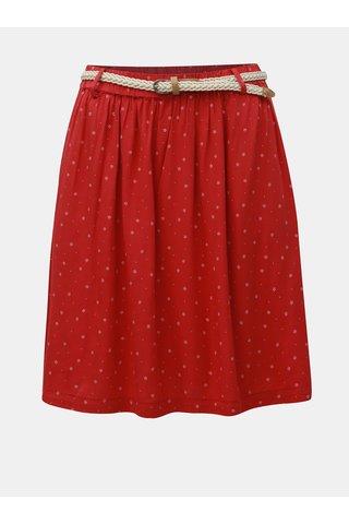 Červená vzorovaná sukně Ragwear Mare