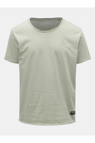 Světle zelené  žíhané tričko Shine Original
