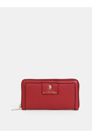 Červená dámská peněženka U.S. Polo Assn.