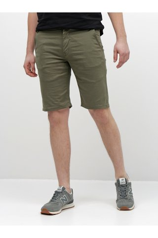 Khaki chino kraťasy Shine Original