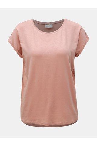 Starorůžové basic tričko VERO MODA AWARE Ava