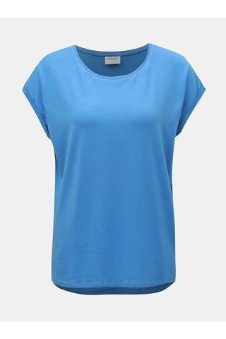 Modré basic tričko VERO MODA AWARE Ava