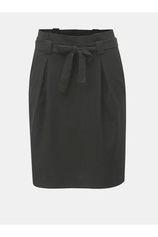 Černá skládaná sukně ONLY Nicole