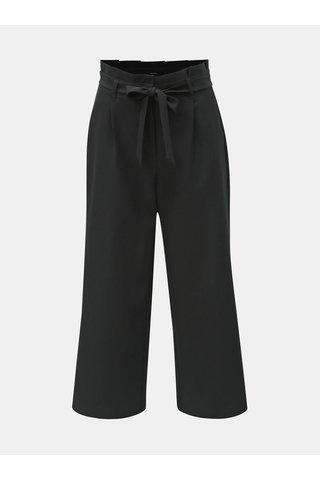 Černé culottes s vysokým pasem VERO MODA Coco