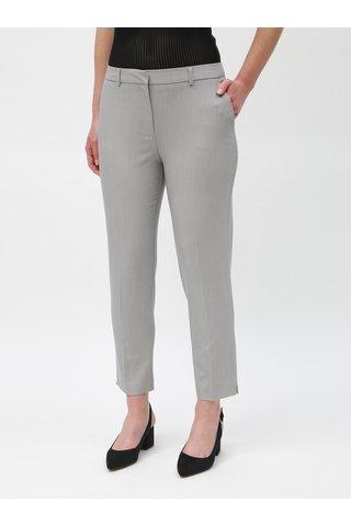 Světle šedé zkrácené kalhoty Dorothy Perkins