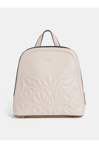 Krémový vzorovaný batoh Bessie London