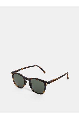 Hnědé vzorované sluneční brýle IZIPIZI #E