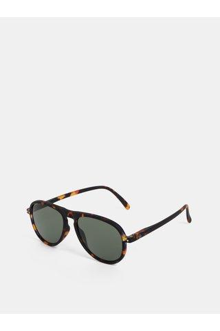 Hnědé vzorované sluneční brýle IZIPIZI #I