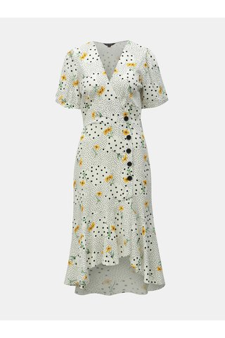 Bílé květované šaty Miss Selfridge